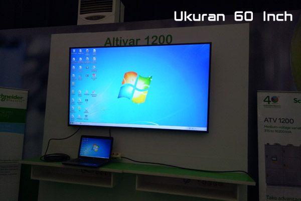 Sewa TV LED Surabaya Ukuran 60 Inch